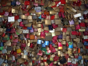 Cologne - lovers' locks