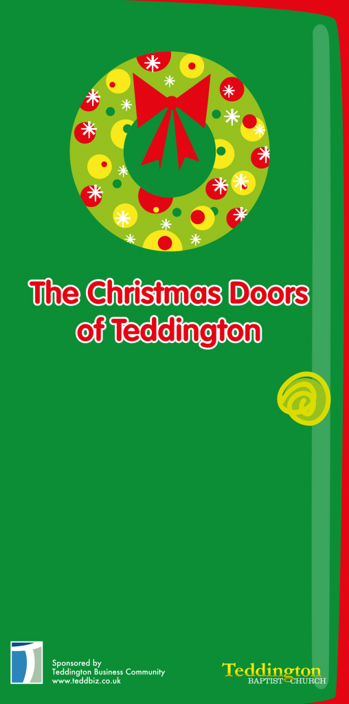#Christmasdoors is jointly sponsored by Teddington Business Community and Teddington Baptist Church